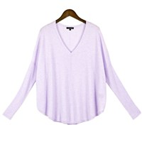 Cashmerism Batwing Loose Fit Cashmere Pullover