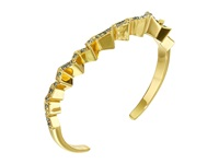 Giles And Brother Ray Zig Zag Pave Cuff