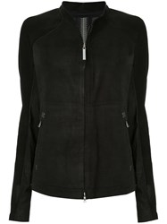 Isaac Sellam Experience Zipped Fitted Jacket Black