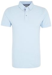 Moods Of Norway Per Are Polo Shirt Cerulean Blue