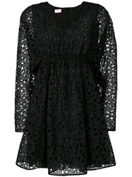 Giamba Babydoll Dress Black
