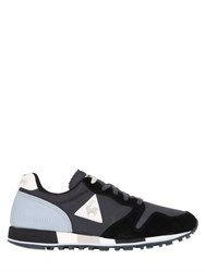 Le Coq Sportif Omega Mesh And Suede Sneakers