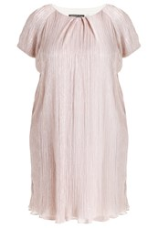 Swing Curve Easy Shift Cocktail Dress Party Dress Rose Pink