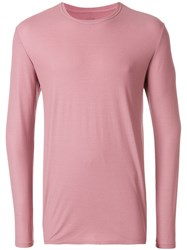 Altea Longsleeved T Shirt Pink And Purple