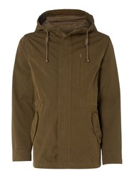Criminal Men's Scott Summer Parka Coat Khaki
