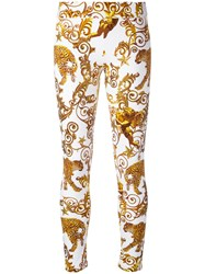 Philipp Plein Sasha Jogging Trousers White
