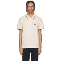 Kenzo Off White Tiger Crest Polo