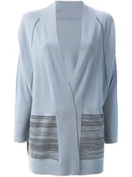 Barbara Bui Stripe Detail Open Front Cardigan