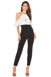 Bardot Marlee Jumpsuit Black And White