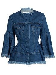 Marques Almeida Frayed Edge Denim Jacket
