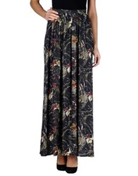 Attic And Barn Attic And Barn Long Skirts Dark Blue