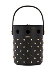 Perrin Paris Le Mini Seau Bucket Bag Black
