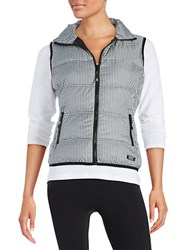 Marc New York Packable Down Vest Grey