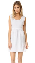 Surf Bazaar Tank Dress White