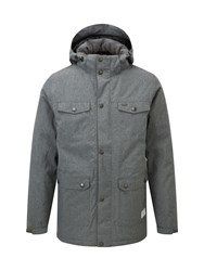 Tog 24 Men's Bexley Mens Milatex Parka Jacket Grey Marl