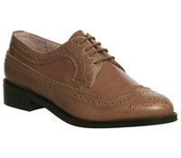 Office Freddy Lace Up Brogues Tan