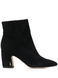 Sam Edelman Hilty Ankle Boots Black