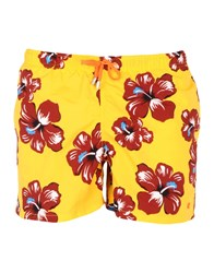 Gallo Swimwear Swimming Trunks Yellow