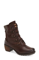 Women's Pikolinos 'Le Mans' Lace Up Boot 2' Heel