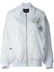 Ktz Bomber Jacket White