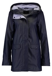 Dorothy Perkins Waterproof Jacket Navy Dark Blue