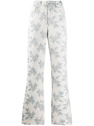 Zadig And Voltaire Pistol Paradise Trousers Neutrals