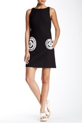 Desigual Sleeveless Jacquard Dress Black