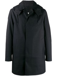 Mackintosh Hooded Coat Black