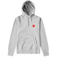 Comme Des Garcons Play Women's Pullover Hoody Grey