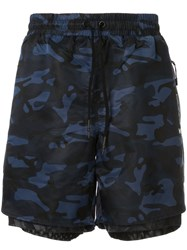 Koral Layered Camouflage Print Track Shorts 60