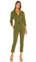 Joie Sashan Jumpsuit In Olive. Chive