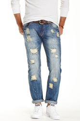 X Ray Distressed Jean Blue