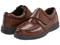 Hush Puppies Gil Tan Leather Men's Hook And Loop Shoes