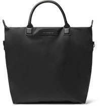 Want Les Essentiels O'hare Leather Trimmed Nylon Tote Bag Black