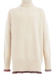 Maison Martin Margiela Turtleneck Sweater Neutrals