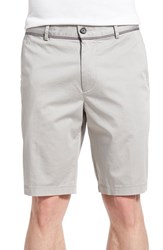 Men's Boss 'Clyde' Flat Front Stretch Cotton Shorts