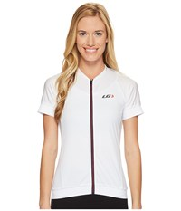 Louis Garneau Icefit 2 Jersey White Dark Night Ginger Women's Clothing