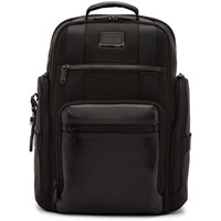 Tumi Black Sheppard Deluxe Brief Pack Backpack