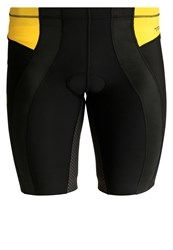Skins Tri400 Tights Black Yellow