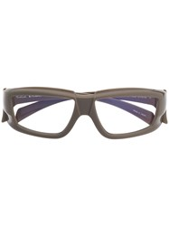 Rick Owens Roo Glasses Grey