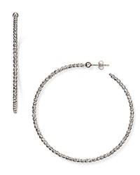Officina Bernardi Hoop Earrings Silver