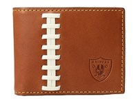 Dooney And Bourke Nfl Leather Wallets Credit Card Billfold Tan Tan Raiders Credit Card Wallet Brown