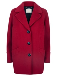 Windsmoor Cocoon Wool Coat Red