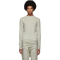 Rick Owens Off White Level Lupetto Sweater