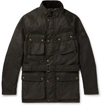 Belstaff Trialmaster Waxed Cotton Jacket Gray