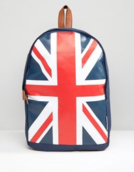 Lambretta Backpack Classic Union Jack All Over Print Navy