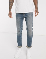 Selected Homme Slim Stretch Fit Leon Jeans Blue