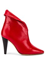 Iro Fawn Bootie In Red.