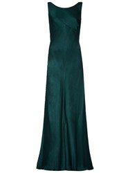 Ghost Edie Dress Emerald Sea