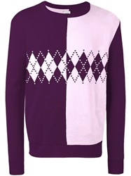 Opening Ceremony Jumper Pink Purple